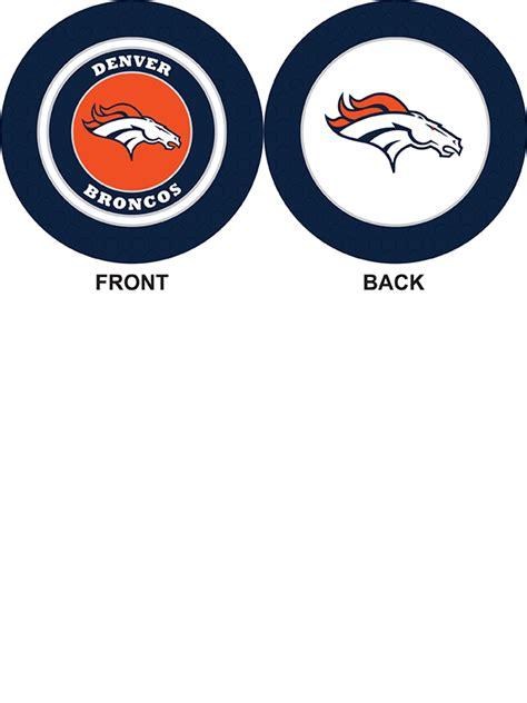 Denver Broncos Ball Marker Poker Chip  Custom  Team Golf Usa