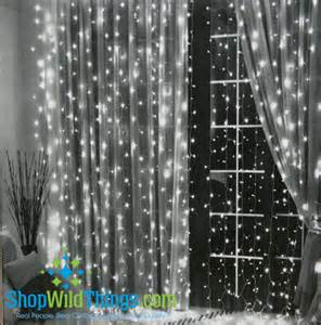 led warm white light curtain 6 long with 144 lights party light curtain