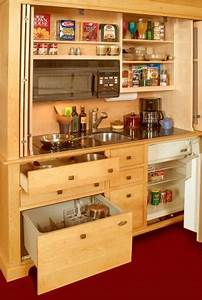 Armoire Mini-Kitchens are Incredibly Innovative ...