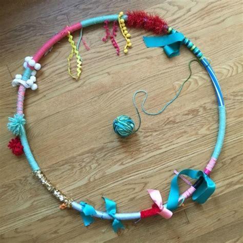 hula hoop selber bauen spielbogen und sensorik hula hoop zum selbermachen zwei einfache anleitungen fresh ideen