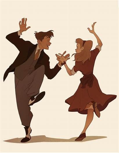 Dancing Drawings Drawing Couple Puba Poses Pose