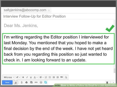 4 ways to write a follow up email for a application
