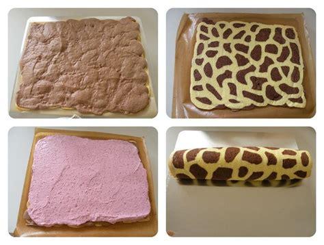Kuchen Muster by Zuckerwelt Giraffenhals Roulade Biskuitrolle Mit