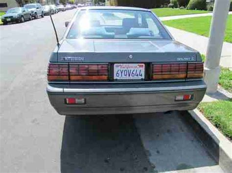 auto air conditioning service 1988 mitsubishi galant parking system buy used 1988 mitsubishi galant sigma sedan 4 door 3 0l in los angeles california united states