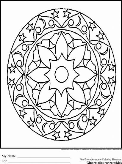 Coloring Pages Intricate Advanced Patterns Adult Artists