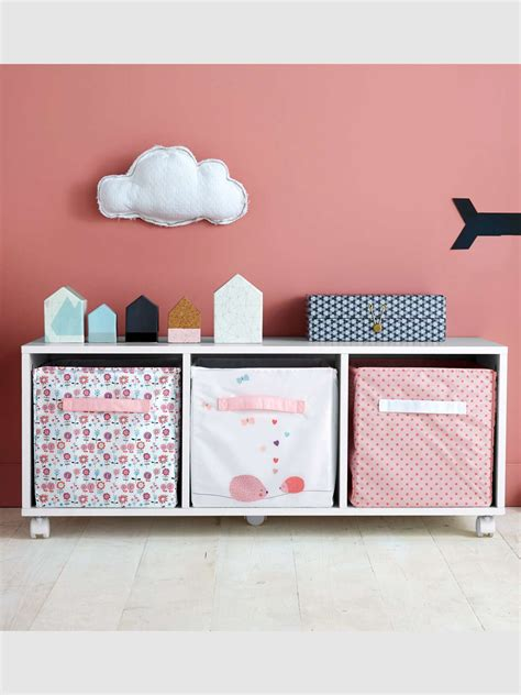 rangement bas chambre meuble bas de rangement chambre enfant gris vertbaudet