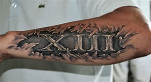 10 En Chiffre Romain : tatouages301 tatouage date de naissance avant bras ~ Melissatoandfro.com Idées de Décoration