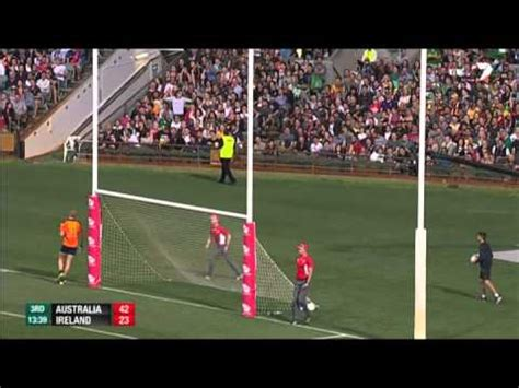 international rules series  highlights australia