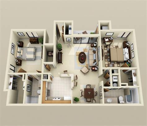 appartement 2 chambres plan appartement 3 chambres