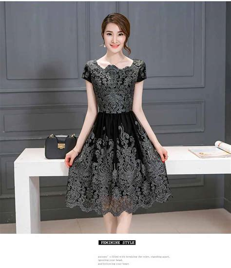dress wanita brokat elegant terbaru  model terbaru