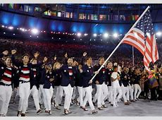 US Olympic Team at Rio Opening Ceremony Newsday