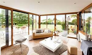 Salon De Veranda : meubler petit salon 13 veranda rideau n1761 de la v233randa aluminium en france digpres ~ Teatrodelosmanantiales.com Idées de Décoration