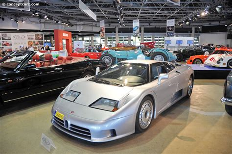 Taking the '1994 le mans car back after 25 years. 1994 Bugatti EB110 GT at the RM Auctions at Monaco
