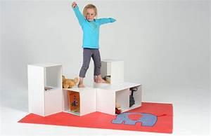 Regal Für Kinder : kube ein spielm bel und regal f r kinder von miriam ~ Lizthompson.info Haus und Dekorationen