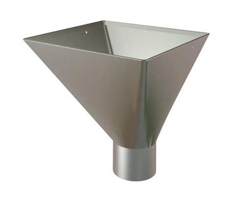 gutter outlet lindab steel large rectangular hopper