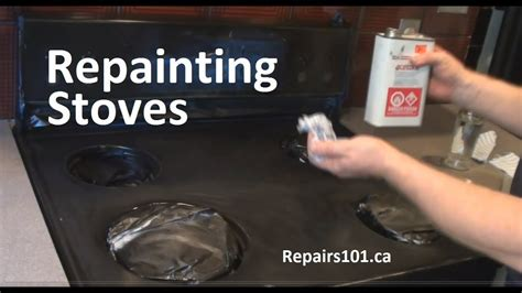 repainting stoves youtube