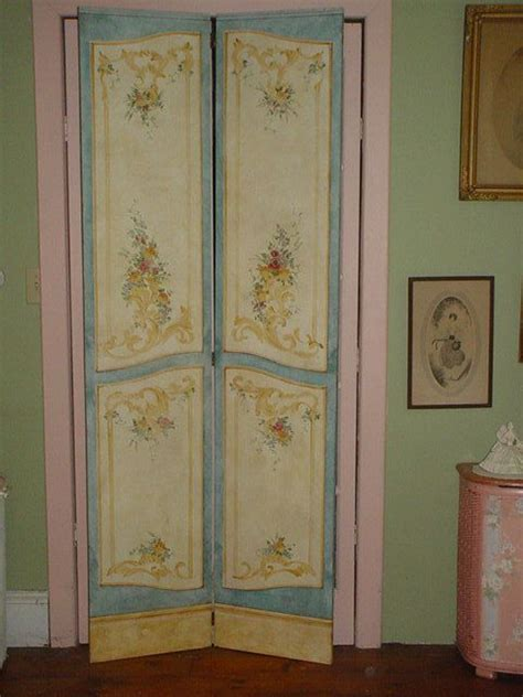 shabby chic room divider reserved sale dressing room screen room divider shabby chic hand pain
