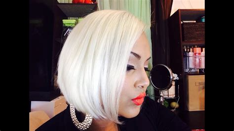 How To Get Platinum Blonde Hair Youtube