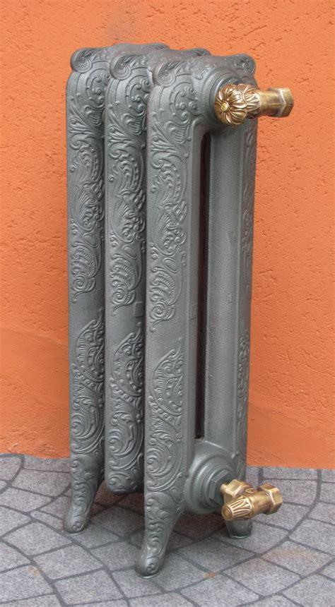 Termosifoni Radiatori Ghisa stile Liberty Decorato 2