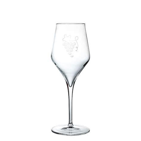 Bicchieri Calice by Bicchieri A Calice In Cristallo Bianco Uva Piatti