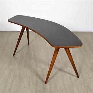 Table Pieds Compas : table haricot pieds compas vintage ~ Teatrodelosmanantiales.com Idées de Décoration