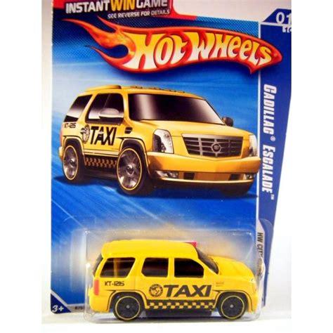 hot wheels keys  speed game cadillac escalade taxi cab