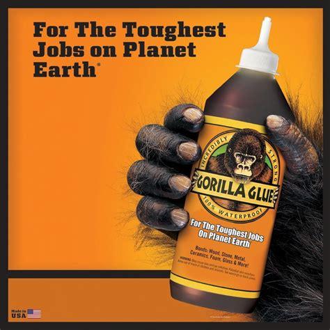gorilla glue strong water resistance metal