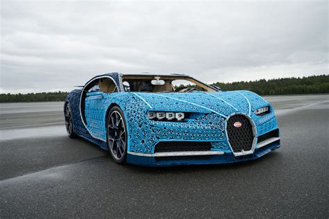 The bugatti chiron — a sleek supercar worth millions — is the ultimate drive for auto enthusiasts. LEGO Technic Bugatti Chiron Life-Size Model-52 | The Brothers Brick | The Brothers Brick