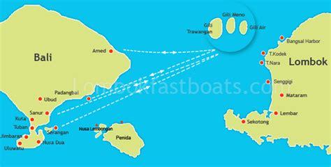 bali  gili island fast boat  bali  lombok bali