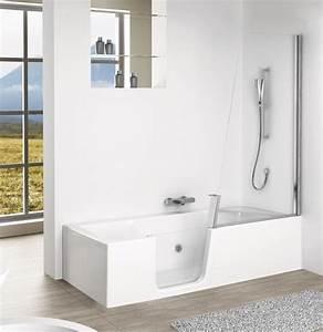 remplacer une baignoire classique par une baignoire a With prix baignoire avec porte