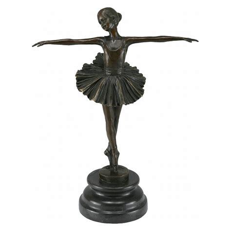 chaise style baroque bronze ballerina sculpture figure ballerina ornament