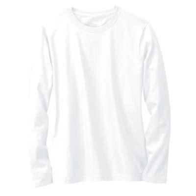 kaos polos lengan panjang warna putih oblong putih