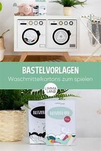 Waschmaschine Spült Weichspüler Nicht Ein : bastelvorlagen waschmittelkartons zum spielen f r kinder ~ Watch28wear.com Haus und Dekorationen