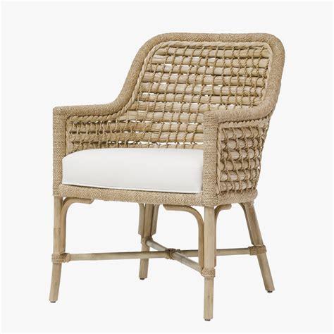 Capitola Rattan Arm Chair  Shop Palecek Chairs  Dear Keaton