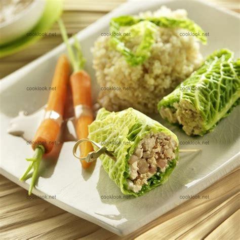 cuisiner le tofu ferme photo culinaire chou farci au tofu quinoa et carottes