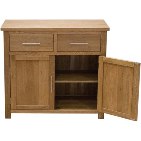 Small Contemporary Sideboard by Opus Oak Small Sideboard Modern Oak Small Sideboard