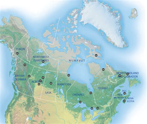 northern lights viewing map map the best places in canada to view the northern lights