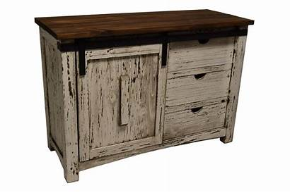 Barn Door Rustic Antique Console Texas Furniture