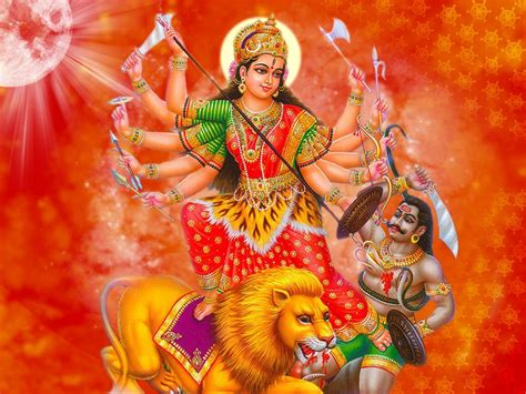 Maa Durga Animated Wallpaper For Desktop - maa durga new wallpapers on festival navratri 2016