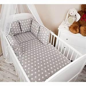 Bettwäsche Für Babybett : baby bettw sche design8 nestchen bettset 100x135 f r ~ Watch28wear.com Haus und Dekorationen