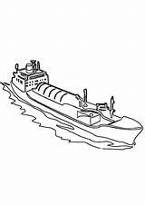 Tanker sketch template