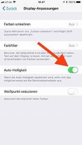 Ein Und Ausschalter : automatische helligkeit beim apple iphone und ipad ein und ausschalten ~ Yasmunasinghe.com Haus und Dekorationen