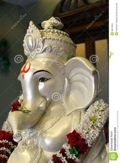 lord ganesha portrait stock image image  ganesha