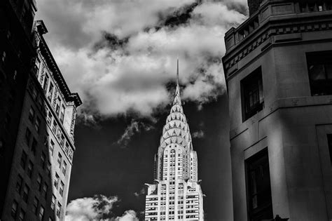 black  white  york city street photography