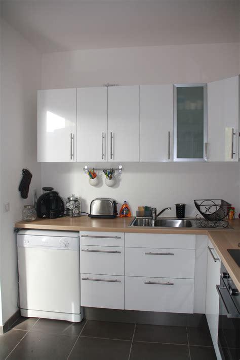 d馗o cuisine blanche cuisine blanche bois et inox photo 3 6 3509191