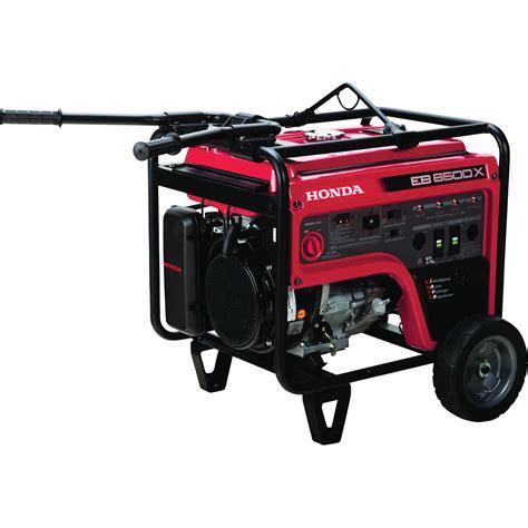 Generator Tool by Honda Eb6500 Iavr Series Portable Generator 6500 Surge
