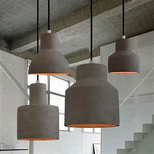Concrete oslo pendant light floors dance and