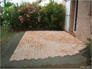 terrasse pave sur sable 21926 sprintco With terrasse pave sur sable