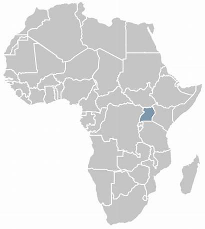 Africa Uganda South Botswana Zambia Map Safaris