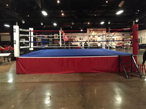 pro boxing ring  wood platform   usa pbrwp